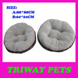 Soft Comfortable Flannel Dog Bed (WY161076-3A/B)
