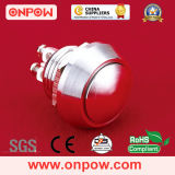 Onpow 12mm Metal Pushbutton (GQ12B-10/S, 12mm, CE RoHS)