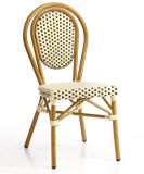 Outdoor Aluminum Bamboo Looking French Style Bistro Chairs (BC-07014)