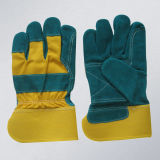 Green Cow Split Leather Double Palm Glove (3060.11)