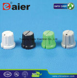 White DOT Colorful Plastic Skirted Volume Control Knobs