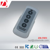 Good Look Long Working Distance 4 Letter Buttons RF Wireless Remote Control