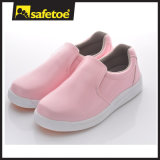 Fashion Lady Casual Shoes, Colorful Working Shoes, Safety Shoes L-7255