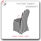 Black and White Stripe Spandex Close Fitting Chair Cover (RT-59)
