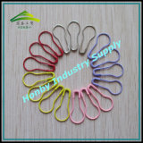 22mm Colored Pear Shaped Safety Pins for Hang Tags (P160322C)