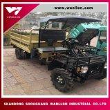 2*4 Wheel Drive 500kg Capacity Farm Tipper UTV with Diesel Power