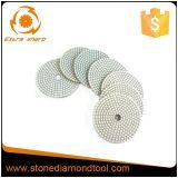 White Pane Wet Dry Flexible Polishing Pads