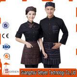Bar Waitress and Waiter Uniform Design for Hotel