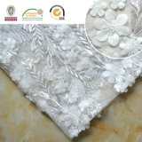Exquisite Lady Dress Lace Embroidery 3D Shine Flower with Sequin 128