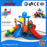 Professional Kids Plastic Slide Outdoor Playground Equipment