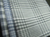 Cotton Yarn Dyed Space Dyed Check Fabric for Shirt