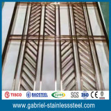 Metal Stainless Steel Sliding Doors Interior Room Divider