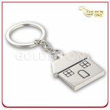 Fancy House Novelty Design Zinc Alloy Metal Keychain