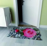 Printed Polyester Door Mats with PVC Backing