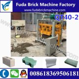 2017 Hot Sale Qt40-2 Hollow Block Machine Brick Concrete Machine