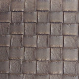 Woven Pattern PU Synthetic Leather for Decoration (HS-M359)