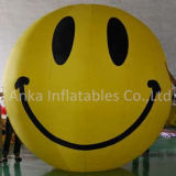 Happy Face Inflatable PVC Helium Smile Balloon with Good Price