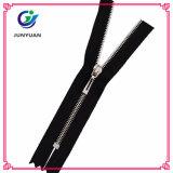 Good Quality 5# Shiny Nickel Metal Zipper