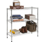 Adjustable Chrome Light Duty household Wire Storage Shelving