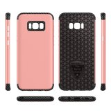 TPU+PC 2 In1 Carbon Fiber Phone Case for Samsung S8 Plus