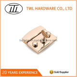 High Grade Chinese Element Key and Engraved Logo Padlock, Decorative Lock for Handbags