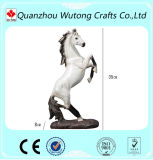 China Suppliers Wholesale Resin Realistic Jumping Horse Sculpture Statue