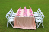 Hot Sale Padded Children Resin Wimbledon Folding Party Chair for Event