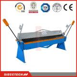 Metal Hand Folding Machine 1.5mm Aluminum Sheet Manual Bending Machinery