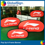 China Factory Direct Advertising Custom Horizontal Pop up a Frame Banner