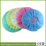 Disposable Surgical Non-Woven Bouffant Cap with Various Colors