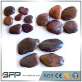 Highly Polished Red River Stone for Landscaping and Paving