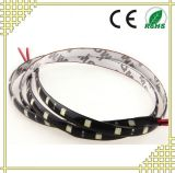Warm White LED Strip Light with Black Background