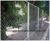 Hot-Dipped Galvanized Chain Link Temporary Wire Mesh Fence