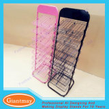 Metal Floor Stand Wire Display Shelving Rack for Polish Nail