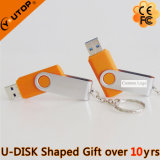 High Speed Revolving Orange Metal USB3.0 Stick for Gifts (YT-1201-06)