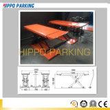 3500kg MID-Rise Scissor Car Lift in Auto Repair Center