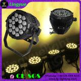 China 18*10W DMX 512 LED PAR Light Outdoor IP66