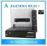 DVB-S2 + DVB-S2X + DVB-T2/C Multi Stream Satellite TV Decoder Zgemma H5.2s Plus Hevc IPTV Box