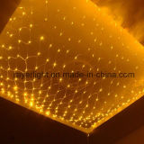 Yellow Color LED Net Light Christmas Decorations