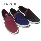 Newest Low Price Fashion Men′s Slip on Canvas Shoes (DL160624-9)