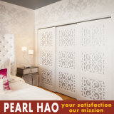 Luxury Bedroom Melamine Sliding Door Wardrobe