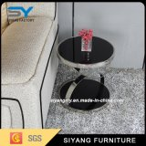 Restaurant Furniture Two Layer MDF Metal Side Table