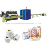 Full Automatic Small Toilet Paper Roll Making Machine Production Line