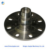 CNC Machining Precision Around Stainless Steel Flange of Laser Equipments