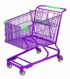 Shopping Trolley Manufacture Metal and Zinc/Galvanized/ Chrome Surface 9114