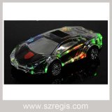 Colorful Lights Transparent Crystal Lamborghini Cars Wireless Bluetooth Speaker