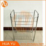 Simple Design Three Basket Wire Cart