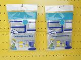 Simple Printing Vacuum Storage Flat Bag
