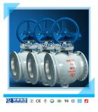 Full Bore Bq340h Hot Sale Factory Price Made in China Hard Seal Flange Semi Ball Valve