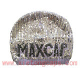 Knitted Hat with Sequins (JRK009)